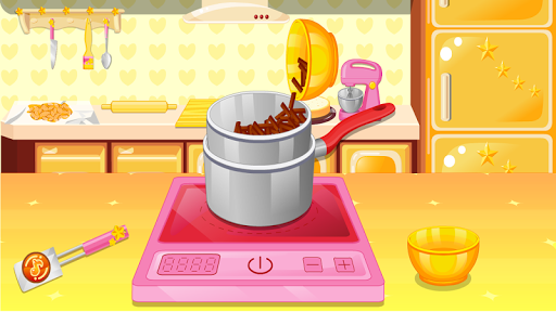 cook cake games hazelnut APK screenshot 1