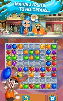 Juice Jam - Puzzle Game & Free Match 3 Games APK screenshot 1