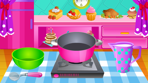 Cooking Games Ice Cream Banana APK screenshot 1