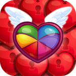 Sweet Hearts - Cute Candy Match 3 Puzzle icon