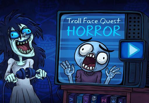 Troll Face Quest: Horror APK screenshot 1