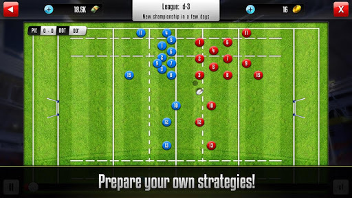 Rugby Manager APK screenshot 1