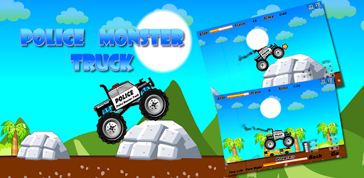 Police Monster Truck pc screenshot