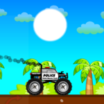 Police Monster Truck for pc icon