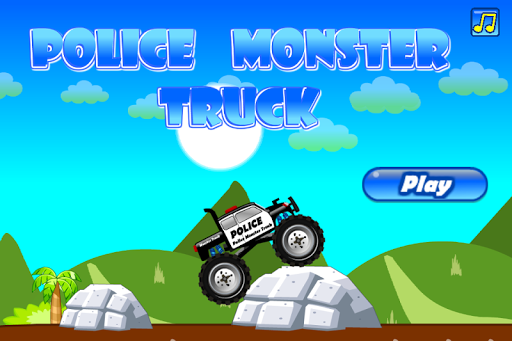 Police Monster Truck apk screenshot 1