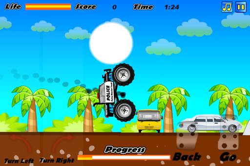 Police Monster Truck apk screenshot 2