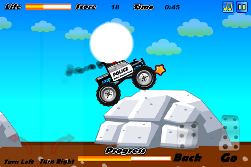 Police Monster Truck apk screenshot 3