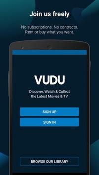 Vudu Movies & TV APK screenshot 1