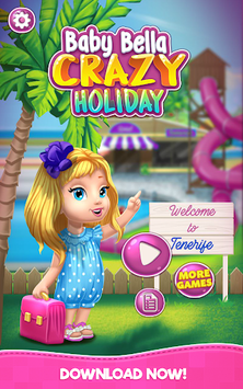 Baby Bella Crazy Holiday APK screenshot 1