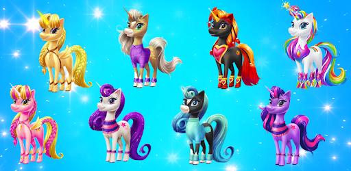 Magical Unicorn Candy World pc screenshot