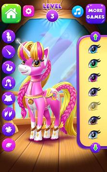 Magical Unicorn Candy World APK screenshot 1
