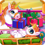 Newborn Unicorn Welcome Party for pc icon