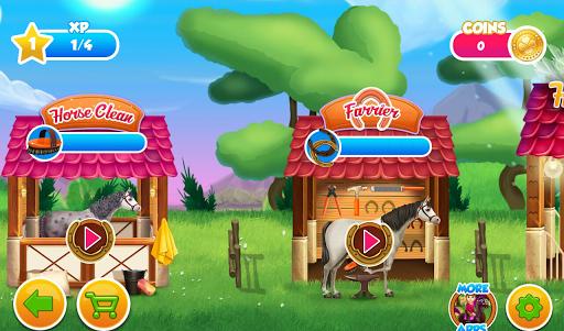 Princess Horse Caring APK screenshot 1