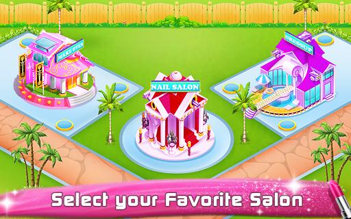 Ballerina Dancer Beauty Salon APK screenshot 1
