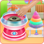 Colorful Cotton Candy icon
