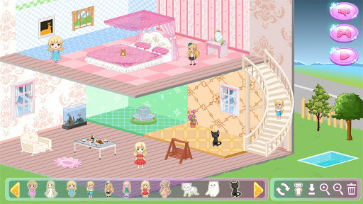 Princess New Doll House Design APK screenshot 1