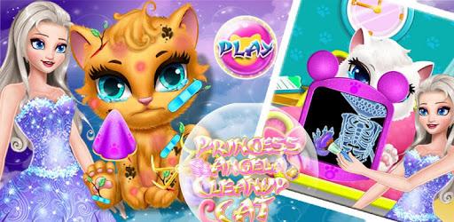 Princess Angela Clean up Cat 2 pc screenshot