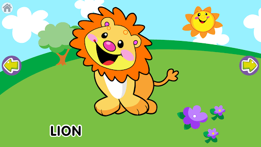 Animal Sounds for Baby APK screenshot 1
