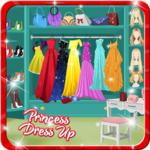 Prom Salon - Princess Dress up icon