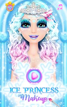 Ice Princess Makeup APK screenshot 1