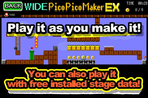 Make Action PicoPicoMaker WIDE APK screenshot 1