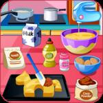 Cook a pony birthday cake icon