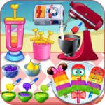 Cook ice pop maker multi color icon