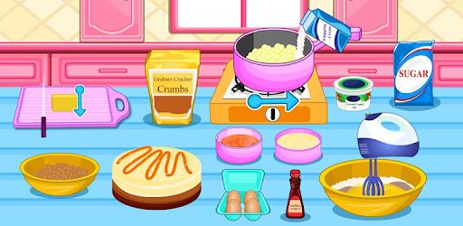 Cook White Cheescake Caramel pc screenshot