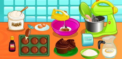 Cooking chocolate cupcakes pc screenshot