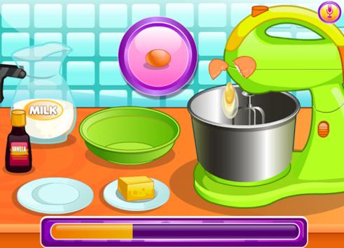 Cooking chocolate cupcakes APK screenshot 1