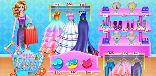 Shopping mall & dress up game pc screenshot
