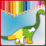 Dinosaur Coloring Game FOR PC