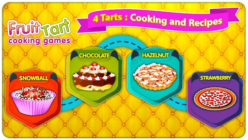 Baking Fruit Tart - Cooking Game APK screenshot 1
