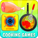 Fried Chicken Salad Cooking icon