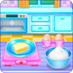 Doll House Cake Cooking APK icon