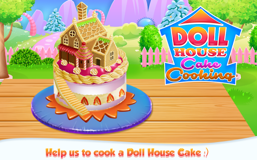 Doll House Cake Cooking APK screenshot 1
