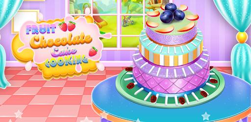 Fruit Chocolate Cake Cooking pc screenshot
