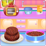 Fruit Chocolate Cake Cooking icon