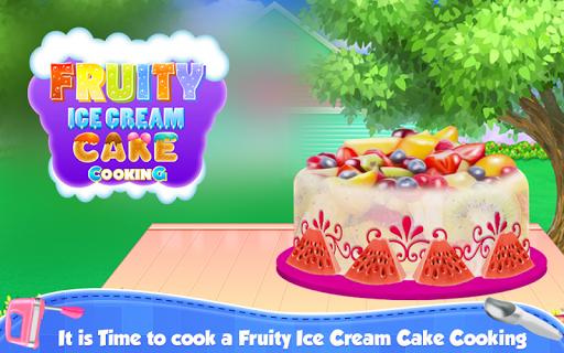 Fruity Ice Cream Cake Cooking APK screenshot 1
