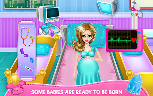 New Born Twins Caring APK screenshot 1