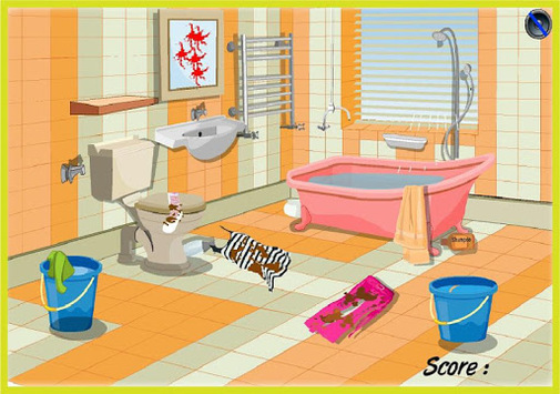 Home Cleanup Game APK screenshot 1