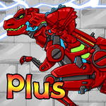 Dino Robot - Tyranno Red icon