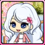 Cherry-blossom Pretty girl icon