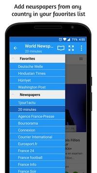 World Newspapers APK screenshot 1