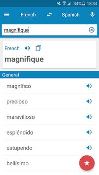 French-Spanish Dictionary APK screenshot 1