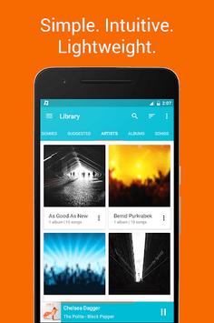 Shuttle Music Player APK screenshot 1