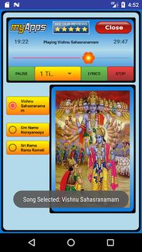 Vishnu Sahasranamam Audio APK screenshot 1