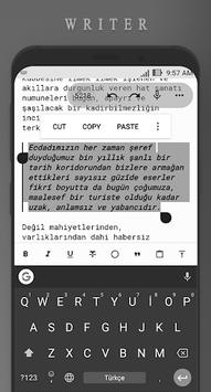 Writer APK screenshot 1