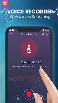 Smart voice recorder: Digital audio recording APK screenshot 1
