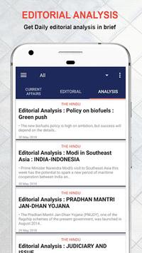 Daily Editorial 🗞-Vocabulary & Current affairs APK screenshot 1